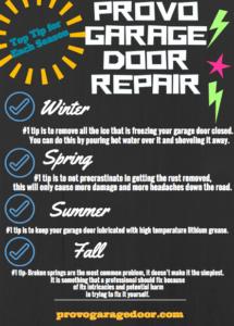 Photo Infographic- Provo Garage Door Repair