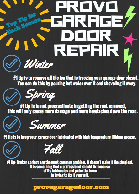 Photo Infographic- Provo Garage Door Repair.