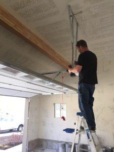 Awesome work on a garage door repair in Provo, Utah.