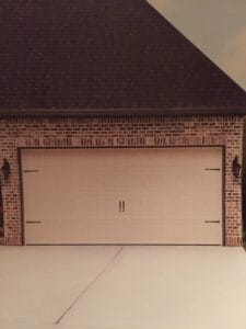 A finished Wayne Dalton brand garage door installation in Provo, Utah.